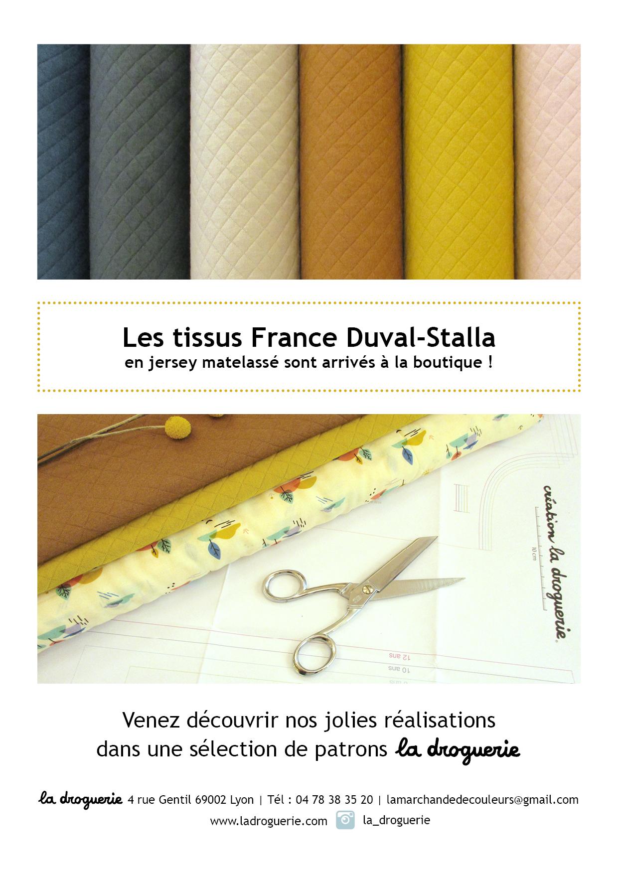 Tissus France Duval Stalla - La Droguerie à LYON