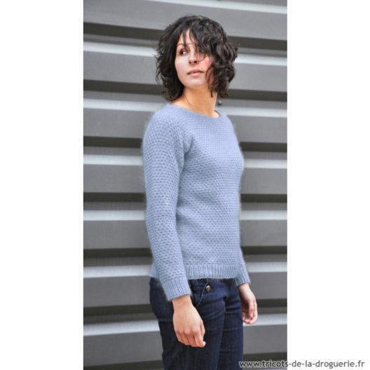 Comment tricoter un pull femme au point fantaisie