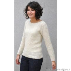 """Modèle tricot femme """"Rue Mazarine"""""""