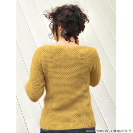 Tricoter un pull débutant femme