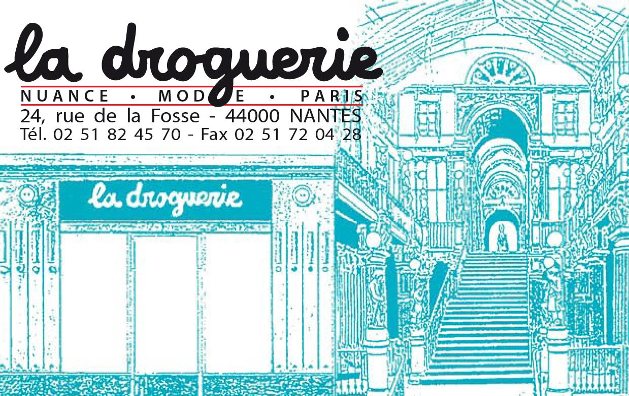 La Droguerie à Nantes - Carte de visite