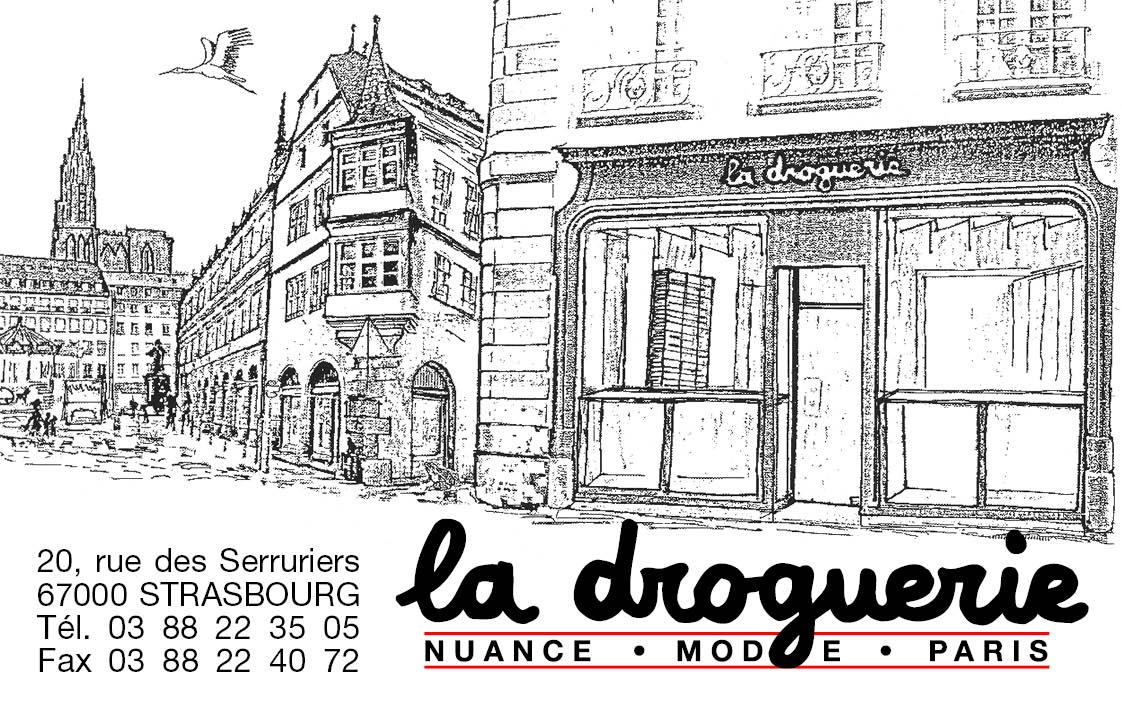 La Droguerie à Strasbourg - Carte de visite