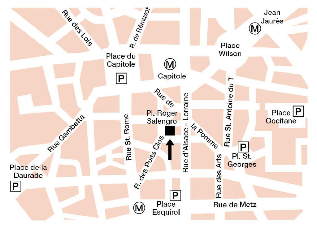 La Droguerie à Toulouse - Plan