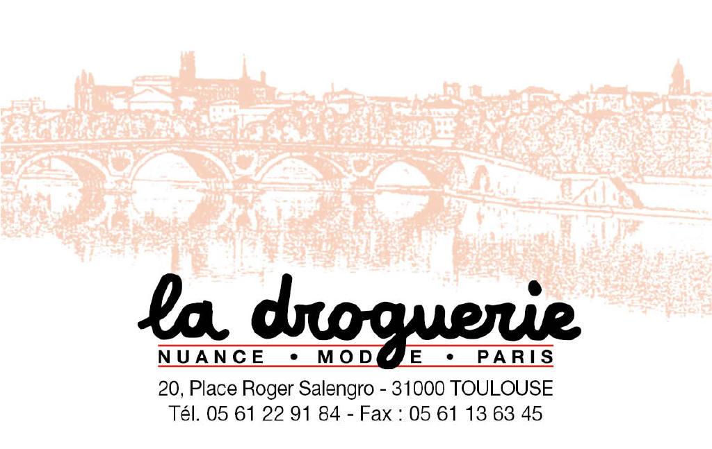 La Droguerie à Toulouse - Carte de visite