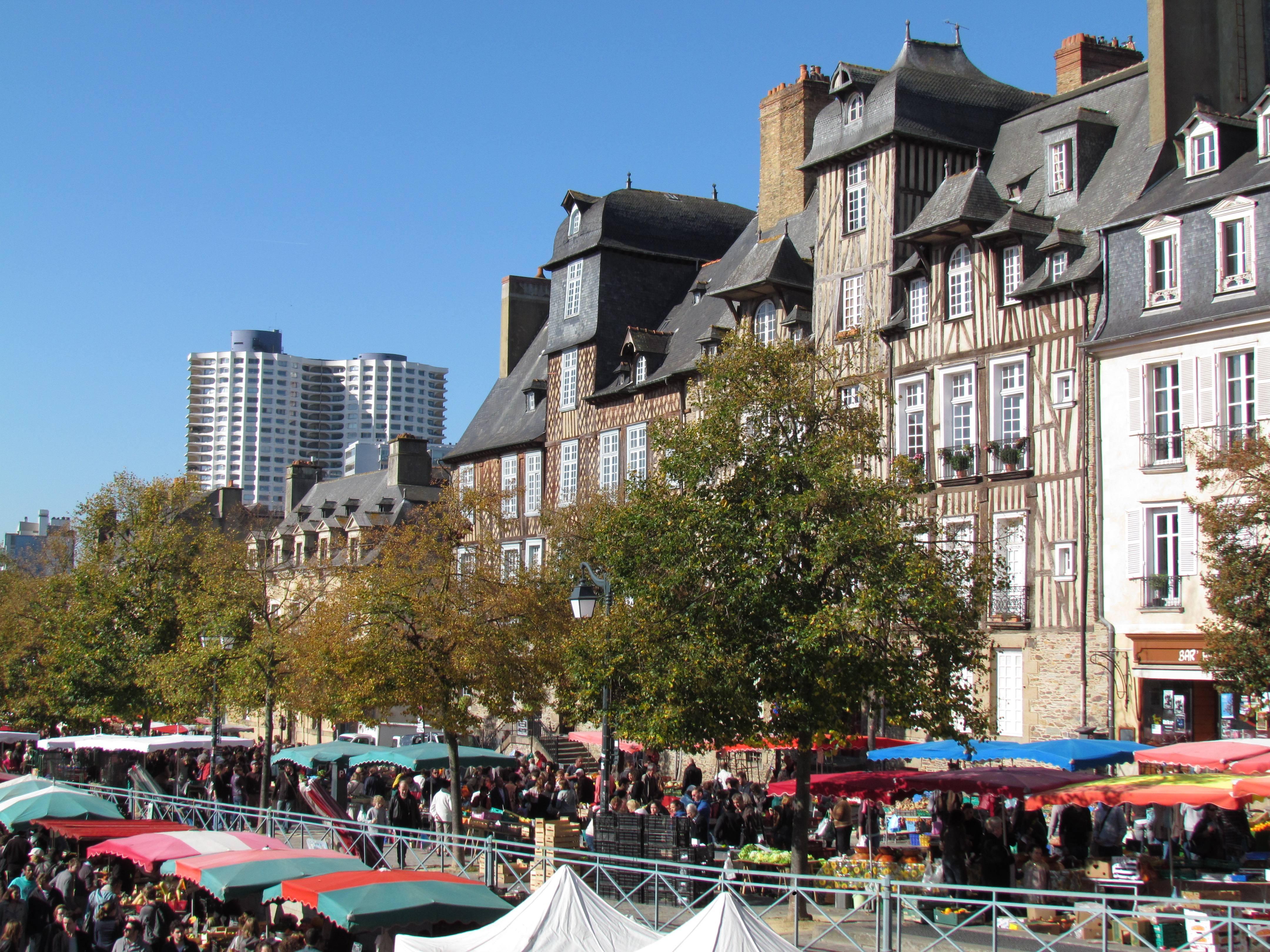 Hôtel des Lices à Rennes