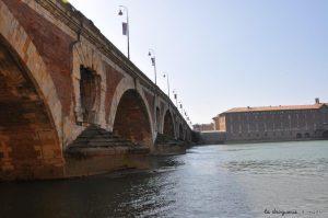 Toulouse - Garonne, quartier de la Daurade