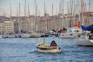 Traversée du Vieux Port à Marseille
