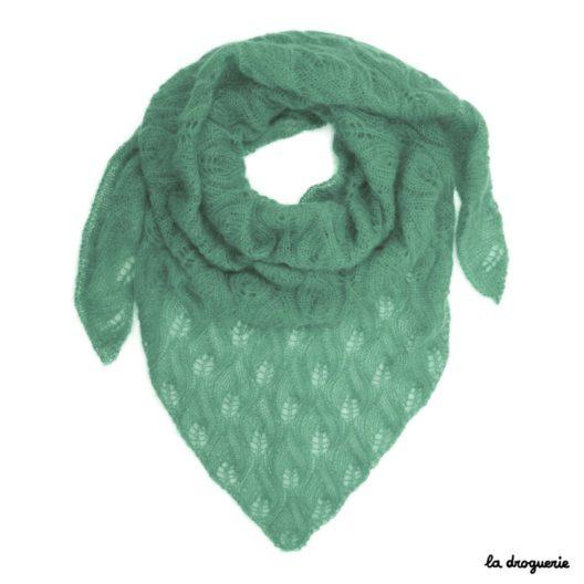 tricoter un grand chale pour femme