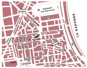 Carte Bordeaux