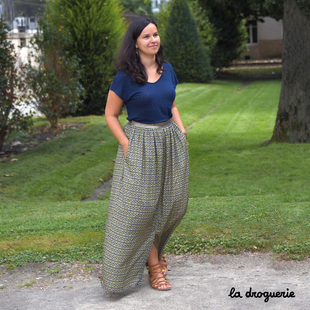 3efc5d95df55d6 La jupe longue femme