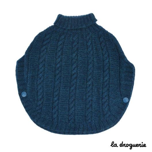 modèle à tricoter au point mousse et torsades | La Droguerie