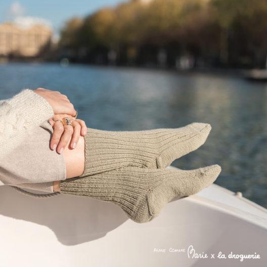 """Les chaussettes en Surnaturelle """"des Canaux"""" 2"""