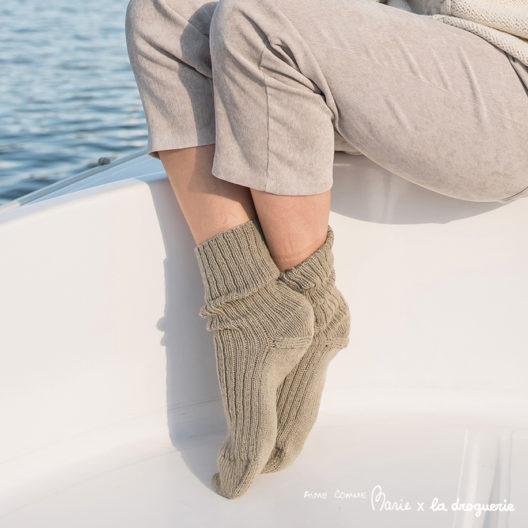 """Les chaussettes en Surnaturelle """"des Canaux"""" 3"""