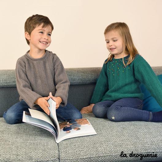tricoter des pulls pour nos enfants La Droguerie