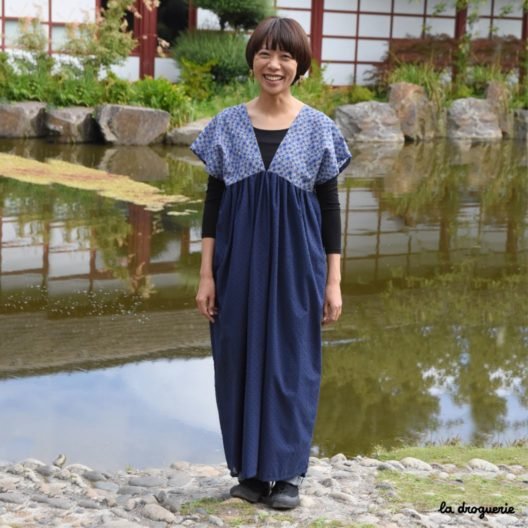 Robe femme inspiration nippone,à réaliser soi-même.