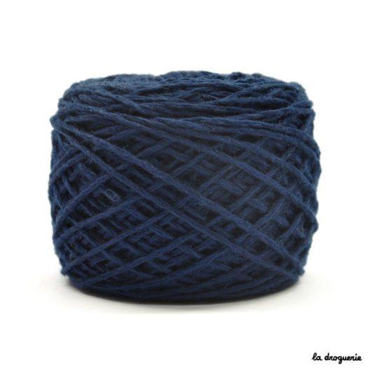 tricoter mini.b 100% pure laine peignée couleur Baleine (marine)