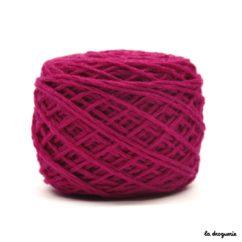 tricoter mini.b 100% pure laine peignée couleur Bégonia (rose)