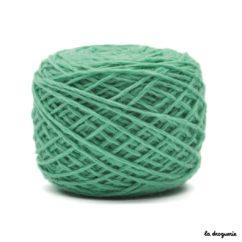 tricoter mini.b 100% pure laine peignée couleur Bermudes (bleu turquoise)