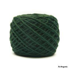 tricoter mini.b 100% pure laine peignée couleur Billard (vert sapin)