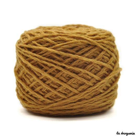 tricoter mini.b 100% pure laine peignée couleur Blé (moutarde)