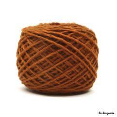 tricoter mini.b 100% pure laine peignée couleur Bois blond (camel)