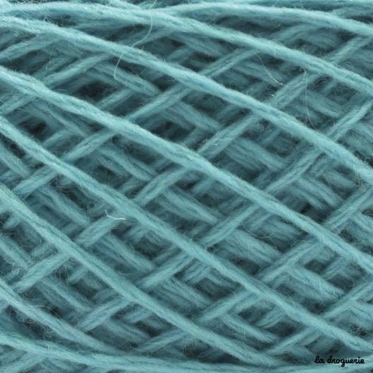 Tricoter laine mini.B couleur Baleares (bleu ciel)