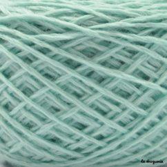 Tricoter laine mini.B couleur Banquise (bleu clair)