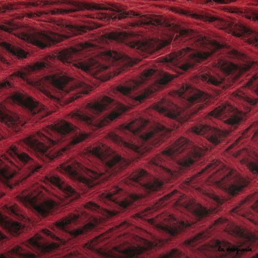tricoter laine mini.B couleur bourgogne (bordeaux)